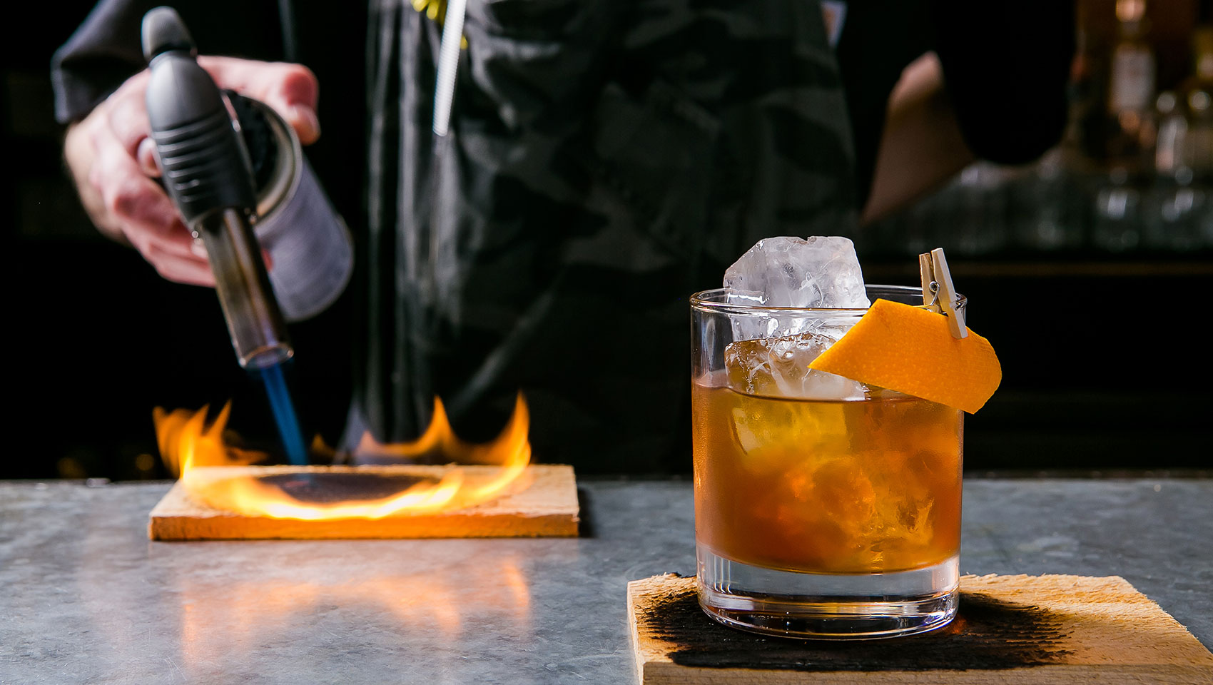 Specialty Whiskey Cocktail Fire