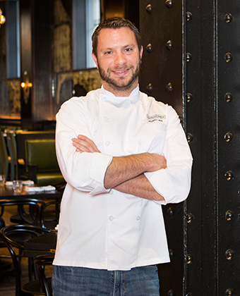 Executive Chef Wyatt Lash Commoner Restaurant